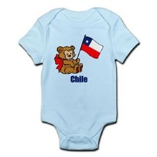 Chile Teddy Bear Infant Bodysuit