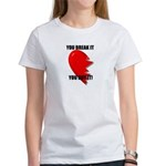 dont break my heart Women's T-Shirt