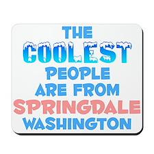 Coolest: Springdale, WA Mousepad