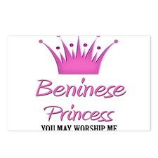 Beninese Princess Postcards (Package of 8)