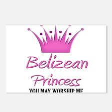 Belizean Princess Postcards (Package of 8)