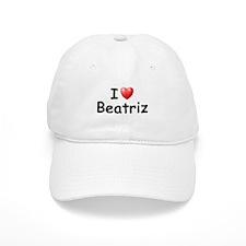 I Love Beatriz (Black) Baseball Cap
