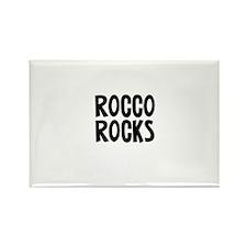 Rocco Rocks Rectangle Magnet