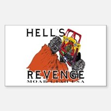 Hells Revenge Rectangle Decal
