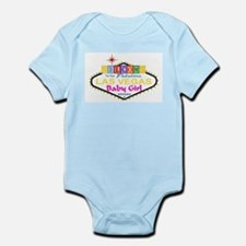Our LV Baby Girl Blocks Infant Bodysuit