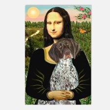 Mona / Ger SH Pointer Postcards (Package of 8)