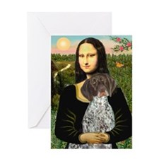 Mona / Ger SH Pointer Greeting Card