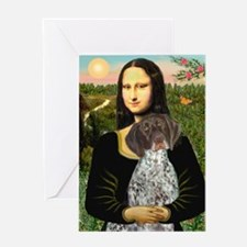 Mona / Ger SH Pointer Greeting Card