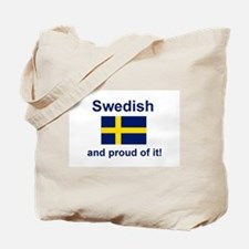 Proud Swede Tote Bag
