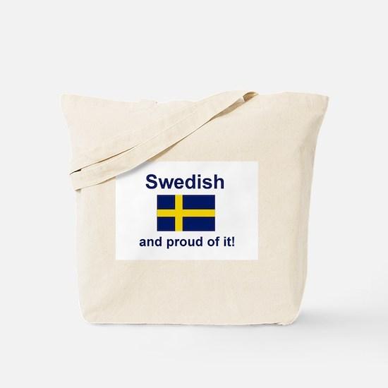 Proud Swede Tote Bag