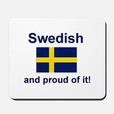Proud Swede Mousepad