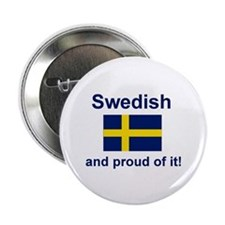"""Proud Swede 2.25"""" Button"""