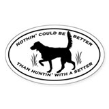 English setter Stickers