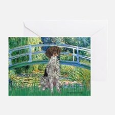 Bridge / Ger SH Pointer Greeting Card