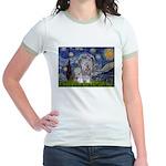 Starry / Skye #3 Jr. Ringer T-Shirt