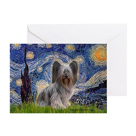 Starry / Skye #2 Greeting Cards (Pk of 20)