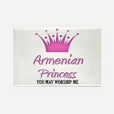 Armenian Princess Rectangle Magnet