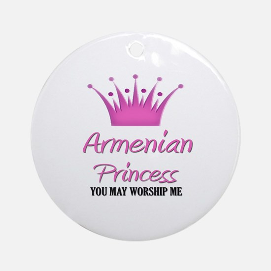 Armenian Princess Ornament (Round)