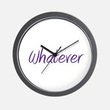 Funny Whatever Wall Clock