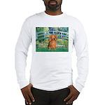 Bridge & Doxie (LH-Sable) Long Sleeve T-Shirt