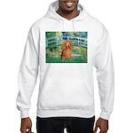 Bridge & Doxie (LH-Sable) Hooded Sweatshirt