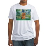 Bridge & Doxie (LH-Sable) Fitted T-Shirt