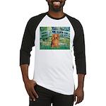 Bridge & Doxie (LH-Sable) Baseball Jersey
