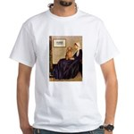 Whistler's /Dachshund(LH-Sabl) White T-Shirt