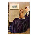 Whistler's /Dachshund(LH-Sabl) Postcards (Package