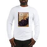 Whistler's /Dachshund(LH-Sabl) Long Sleeve T-Shirt