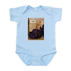 Whistler's /Dachshund(LH-Sabl) Infant Bodysuit