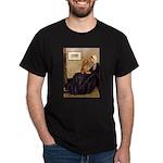 Whistler's /Dachshund(LH-Sabl) Dark T-Shirt