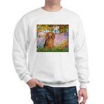 Garden -Dachshund (LH-Sable) Sweatshirt