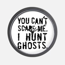 'You can't scare me' Wall Clock