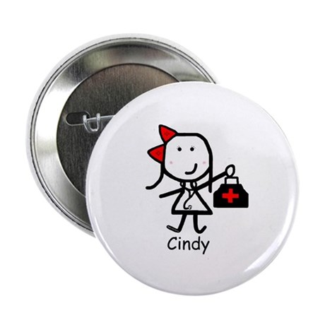 "Medical - Cindy 2.25"" Button"