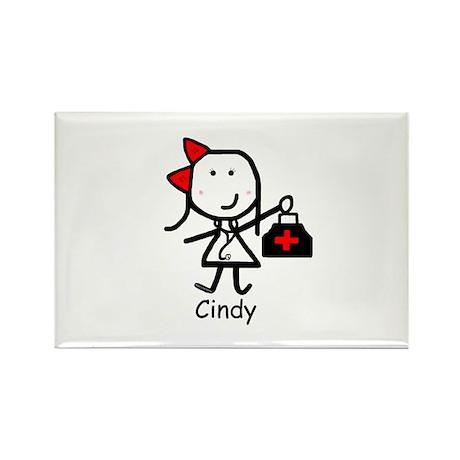 Medical - Cindy Rectangle Magnet (10 pack)