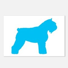 Blue Bouvier Postcards (Package of 8)