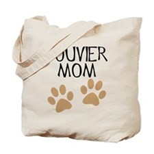 Big Paws Bouvier Mom Tote Bag