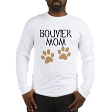Big Paws Bouvier Mom Long Sleeve T-Shirt