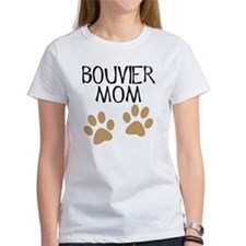 Big Paws Bouvier Mom Tee