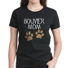 Big Paws Bouvier Mom Tee