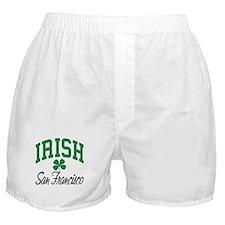 San Francisco Irish Boxer Shorts