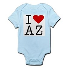 I Love Arizona (AZ) Infant Creeper