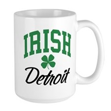 Detroit Irish Mug