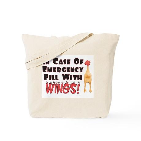 Hot Wings Tote Bag