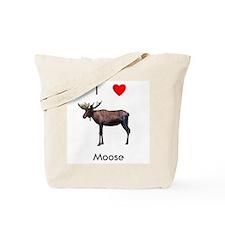 I love moose Tote Bag