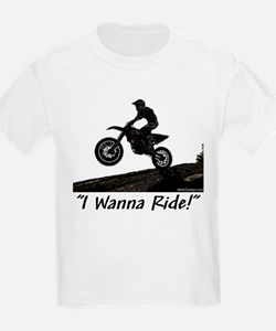 """I Wanna Ride!"" T-Shirt"