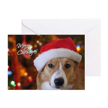 Pembroke Welsh Corgi Christmas Cards (Pk of 20)