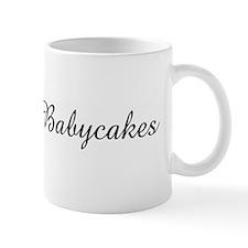 I love My Babycakes   Small Mugs