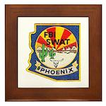 Arizona FBI SWAT Framed Tile